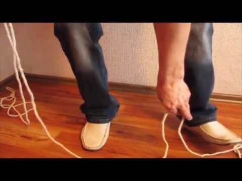 Разрезать верёвку без ножа