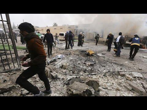 Sok civil meghalt a szíriai kormányerők légicsapásaiban