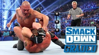 WWE SmackDown FOX Premiere: GRADED (4 Oct) | Cain Velasquez Debut, Brock Lesnar vs Kofi Kingston