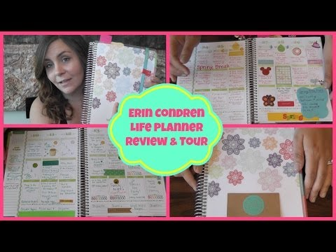 Erin Condren Life Planner Layout & Review 2013-14 -