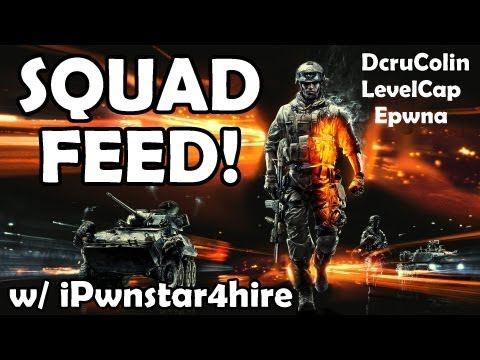 "BF3 Squad Feed ""ALMOOOOOST"" Ft Colin Epwna and LevelCap"