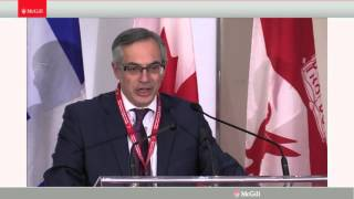 """Tony Clement: A Conservative View on Canadian Foreign Policy - """"Canada on the Global Stage"""""""