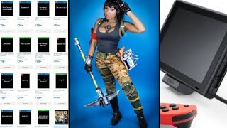 Nintendo Switch Official Stand, Fortnite Cosplay and Thanos, Walmart Leaks E3 Games