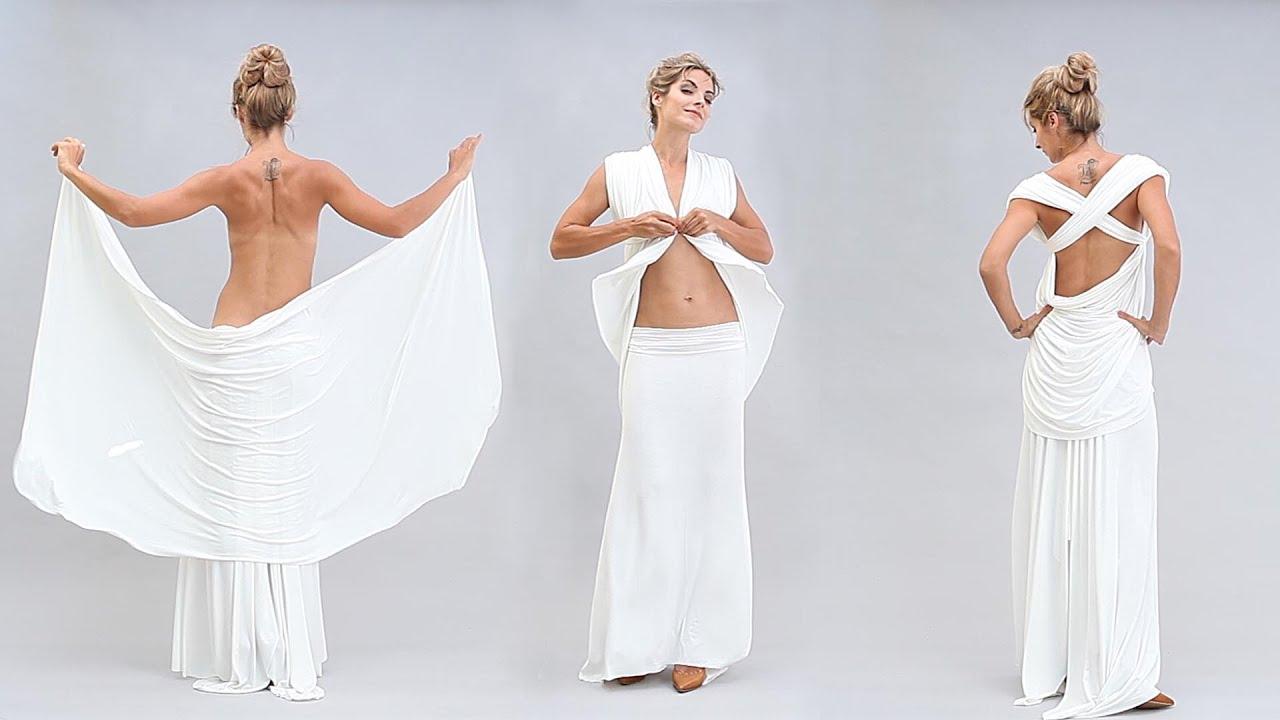 Быстро сшить платье в греческом стиле