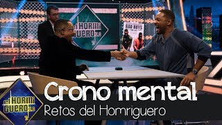 Will Smith y Martin Lawrence enfrentados en el crono mental - El Hormiguero 3.0