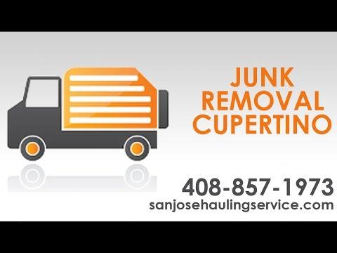 Junk Removal Cupertino CA | Coffaros Hauling Service | Call 408 857 1973 Today