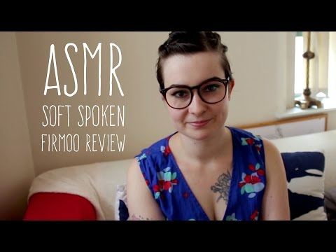 ASMR Soft Spoken Review of Firmoo Glasses