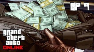 GTA 5 Online PC Fleeca за водителя, крадем файлы у полиции ч. 9
