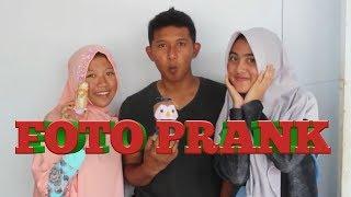 FOTO PRANK !!! Fotoin Teman tapi di Video