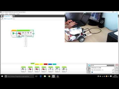 Lego Mindstorms Ev3: Movimiento Curvo, O Trazar Curvas Y Girar