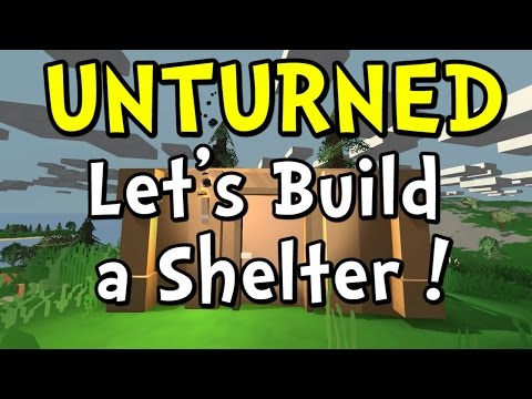 UNTURNED How to Make a House Step by Step Crafting Guide