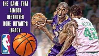 The game that almost destroyed Kobe Bryant's legacy!