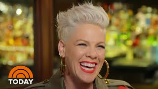 Pink Talks To Carson Daly About Fame, Family And Her New Album | TODAY