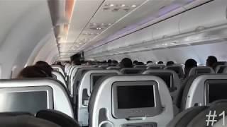 Top 10 Turbulências mais assustadoras, passageiros em pânico 😂😂