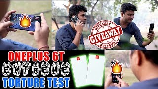 BIG Giveaway, 2 OnePlus 6T From GTU, Oneplus 6T Extreme, Torture Test, Performance Review - Hindi