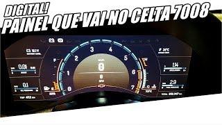 """PAINEL DIGITAL """"FEITO EM CASA""""! CORSA TURBO DIGITAL - Canal 7008Films"""