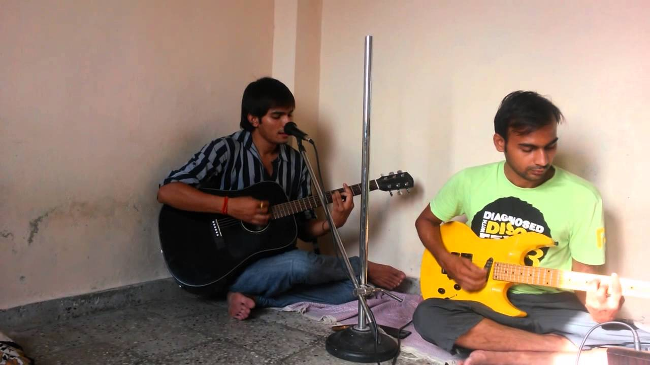 Teri galliyan ek villain guitar chords cover lesson intro - YouTube