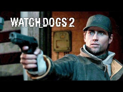 WATCH DOGS 2 AIDEN PEARCE Easter Egg Cameo Gameplay PS4 PRO