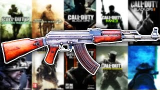 The Evolution of The AK-47 in Every Call of Duty