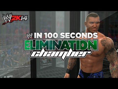 WWE Elimination Chamber 2014 In 100 Seconds! ( WWE 2K14 Machinima )