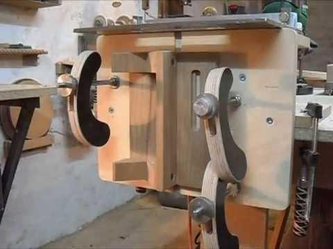 Самодельный токарный станок по дереву с копиром