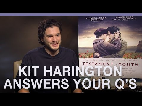 #AskKitTOY Kit Harington answers your questions