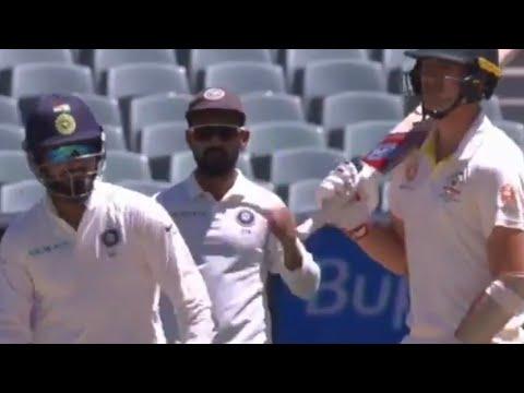 Rishabh Pant Sledging Pat Cummins | Pant vs Cummins - India vs Australia, 1stTest, Twitter HIGHLIGHT