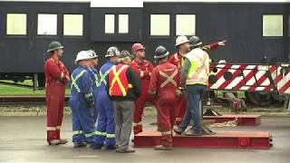 Century Old Train Comboose Moved To New Home In Dawson Creek