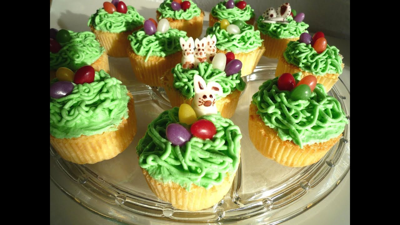 oster cupcakes easter cupcakes youtube. Black Bedroom Furniture Sets. Home Design Ideas