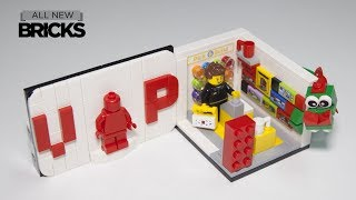 Lego 40178 Exclusive VIP Store with Plaque Speed Build