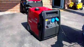 HONDA EU30i Handy 3 kVA, generator vs. drill voice test, inverteres áramfejlesztő hang teszt
