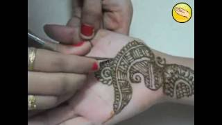 Simple Mehndi design 2