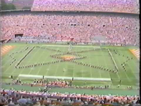 1991 University of Tennessee Pride of the Southland Band