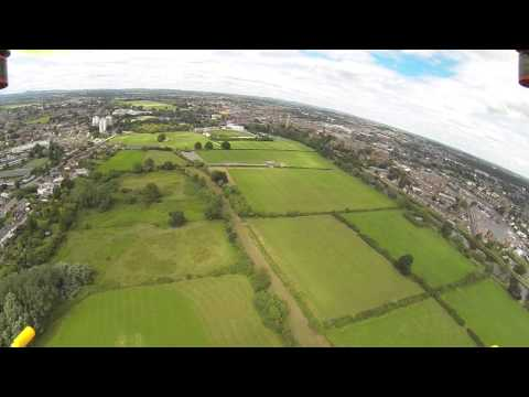 Turnigy HAL over Worcester with DJI Naza