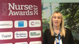 Innovations Category, RCNi Nurse Awards 2017