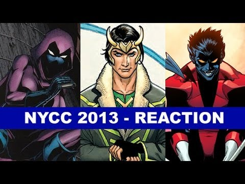 Stephanie Brown joins New 52, Loki Agent of Asgard, Nightcrawler returns - NYCC 2013 Review