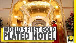 Vietnam opens world's 'first' gold-plated hotel | World News | WION