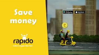 Rapido - Pay Less Travel More