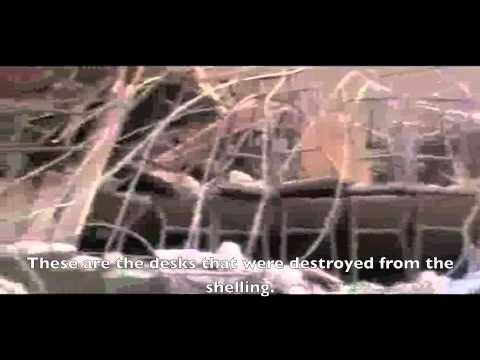 ENGLISH SUBTITLES: Aleppo || Total destruction of a children's school in Al-Maseer