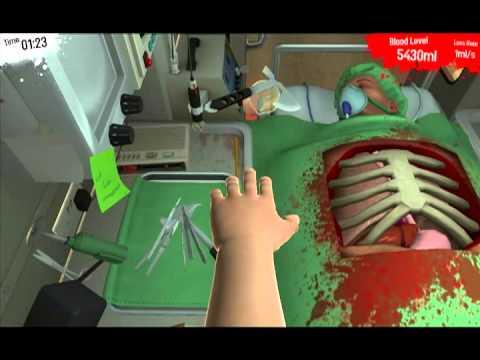 Surgeon Simulator 2013 Ep.4 : Docteur Cutter, cet ambulancier !