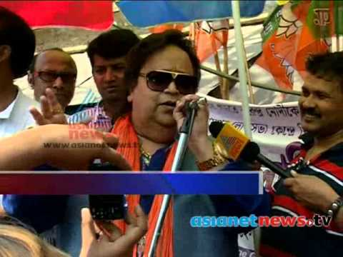 India Election 2014 :Bappi Lahiri is BJP candidate from Sreerampore ബാപ്പി ലാഹിരി