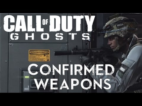 Call of Duty:Ghosts Weapons, Assault Rifles, SMGS