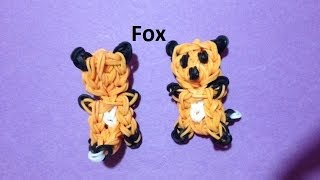 How to Make a Fox on the Rainbow Loom - Original Design