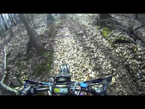 Off roading with the Yamaha WR250X