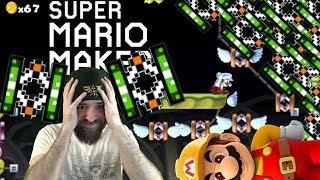 THIS IS CHAOS!! | SUPER EXPERT NO SKIP [#09] [SUPER MARIO MAKER]