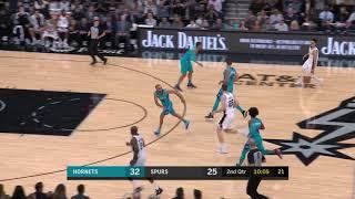 3rd Quarter, One Box Video: San Antonio Spurs vs. Charlotte Hornets