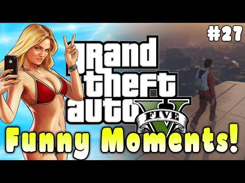 Gta 5 Funny Moments #27 (trolling Kids, Fails And Funny Deaths!) video