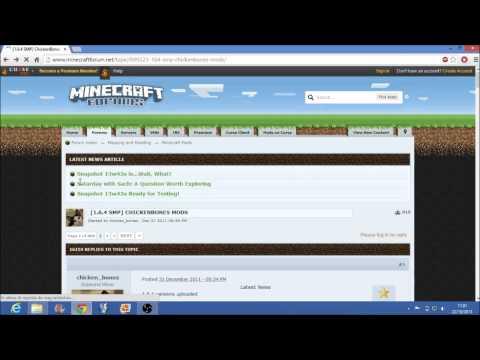 Come mettere le mod in minecraft ( IN DESCRIZIONE PER GLI SP O NON PREMIUM )