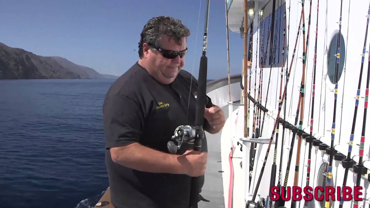Dan hernandez on how to keep your rods reels on a sport for Sport fishing with dan hernandez