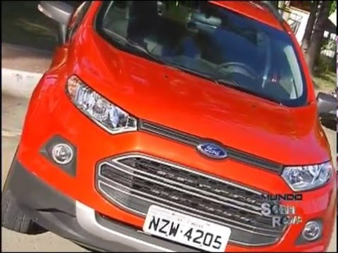 Test drive Novo Ford EcoSport FreeStyle